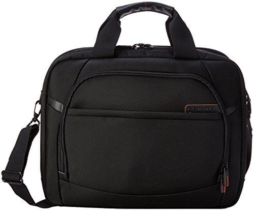 Samsonite Pro 4 DLX 2 Gusset PFT TSA Briefcase, Black, One (Samsonite Pro Dlx Black Luggage)
