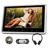 "10.1"" Headrest DVD Player for Car & Home Use Support HDMI Input, Sync Screen, Last Memory, AV Out & in, 1080P Video, USB SD - NAVISKAUTO"