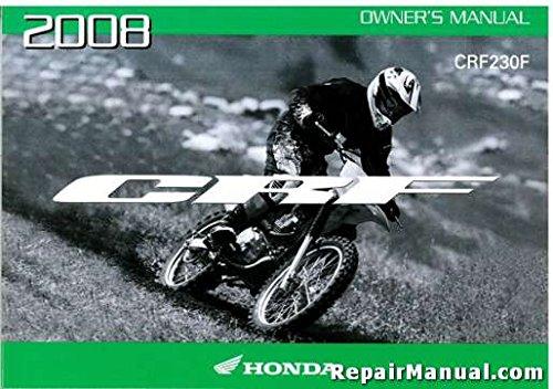 Read Online 31KPS650 2008 Honda CRF230F Motorcycle Owners Manual pdf
