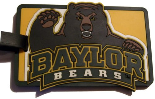 aminco NCAA Baylor Bears Soft Bag Tag