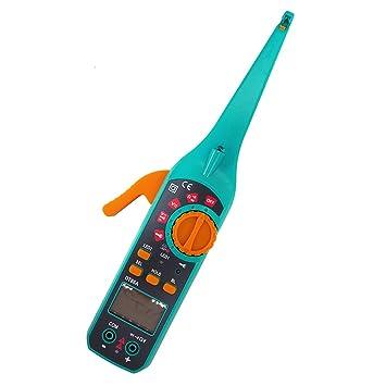 Probador del circuito del vehículo, PROTMEX Detector del circuito del coche de DT86A Probador de la ...