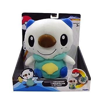 TOMY Pokémon Peluche Oshawott Reversible