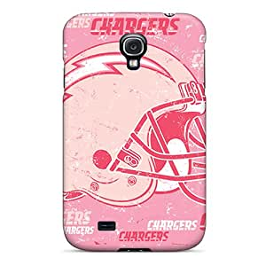 Scratch Resistant Cell-phone Hard Covers For Samsung Galaxy S4 (Dor8212NRjP) Allow Personal Design Fashion San Diego Chargers Pictures