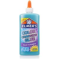Elmer's Glues and Adhesives Color Changing Blue To Purple 9 oz
