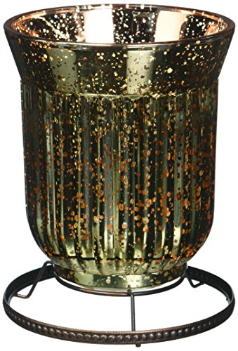 Scentsy Lampshade Warmer (Amber Fluted (Glass Fluted Shade)