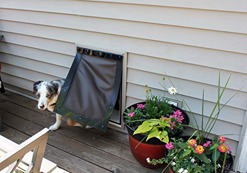 Freedom Pet Pass Wall Mounted Energy Efficient Extreme Weather Dog