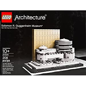 "4"", Solomon R. Guggenheim Museum Model Set, 208 Piece - 51nO 2Bz0qZbL - 4″, Solomon R. Guggenheim Museum Model Set, 208 Piece"