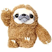 """Sloth Stuffed Animals Fluffy Sloth Plush Not Easy Shed Fur Animal Stuffed Sloth Soft Gifts Toy For Kids 16"""", Grey"""