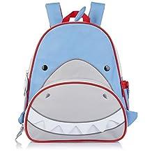 Skip Hop Zoo Pack Little Kid & Toddler Backpack, Snazzy Shark