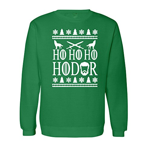 Adult Ho Ho Hodor Ugly Christmas T-shirt