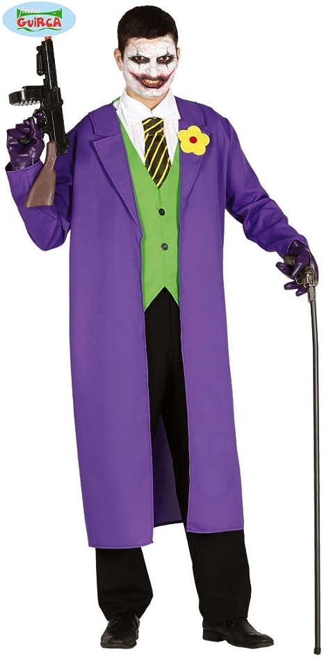 NET TOYS Disfraz Malvado Joker - M (ES 48/50) | Disfraz Payaso ...