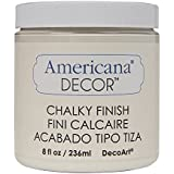 DecoArt ADC-02 Americana Chalky Finish Paint, 8-Ounce, Lace