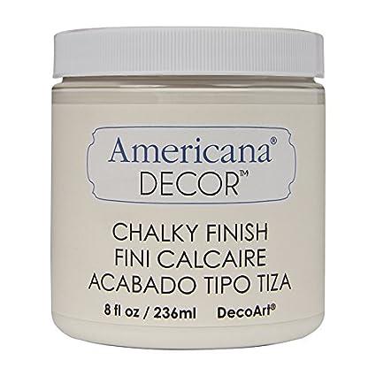Artdeco DecoArt 8 oz Vintage Americana Decor Chalky acabado pintura, acrílico, Lace, DecoArt