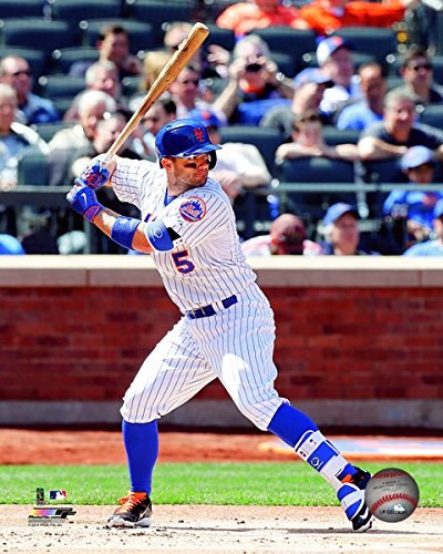 "David Wright New York Mets 2015 MLB Action Photo(Size: 8"" x 10"")"