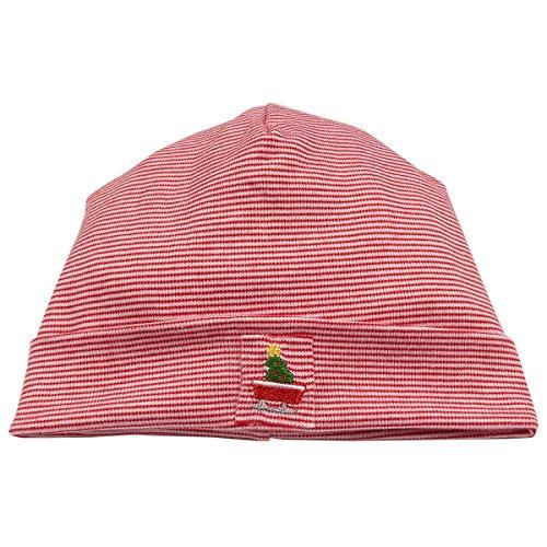 Kissy Kissy Baby Boys Babys First Christmas 2017 Stripe Hat - ()