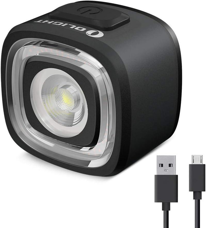 Olight RN 120 Linterna Trasera de Bici Luz Trasera Inteligente para Bicicleta con Sensor de Movimiento Integrado Max 120 lúmenes Luz Recargable USB, IPX5 , Resistente al Agua y Amplio Rango Visual