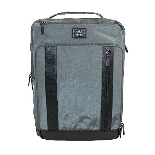 Dopp Men's Commuter Convertible Backpack with RFID Blocking Lining, Grey