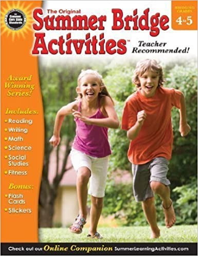 Summer Bridge Activities, Grades 4   5: Bridging Grades Fourth To Fifth By Unknown (2013) by Amazon