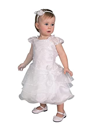 Boutique-Magique Robe de baptême bébé brodée  Amazon.fr  Vêtements ... 3c286057552