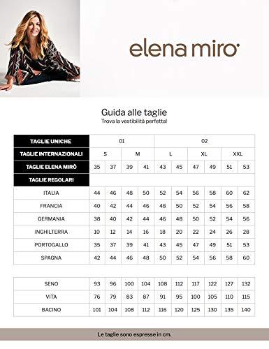 Nero Tecnico italian Elena In Mirò Size Pantaloni Tessuto Skinny qxxw8nOHa