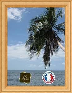 Marco de foto de la pared 20x50 / 20 x 50 marco de la foto Oro largo, 7 cm de ancho, Marco de madera de fotos