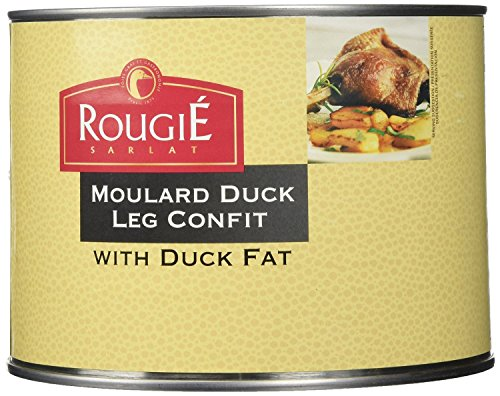 Rougie Confit of Duck Legs, 4 legs, 53oz (2 PACK)
