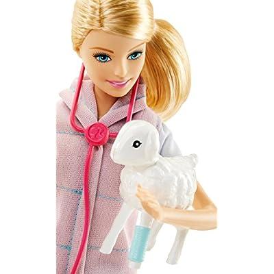 Barbie Careers Farm Vet Doll & Playset: Toys & Games