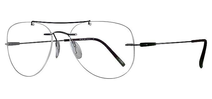 5ace74b98b Schwarzkopf Eyeglasses Silhouette Dynamics Colorwave (5500) 6560 grey  55 18 145  Amazon.de  Bekleidung