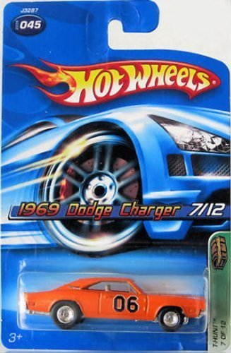 2006 (7/12) 1969 Dodge Charger Hot Wheels Treasure Hunt