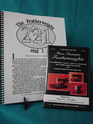 DVD and Book Combo Package: Those Fantastic Featherweights (DVD) 2008 and The Featherweight 221 and I (Book) 2004