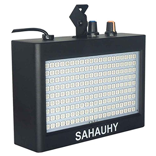 Strobe Lights,SAHAUHY 35W 180 LEDs Super Bright Flash Stage Lighting Mixed Color(180) by SAHAUHY