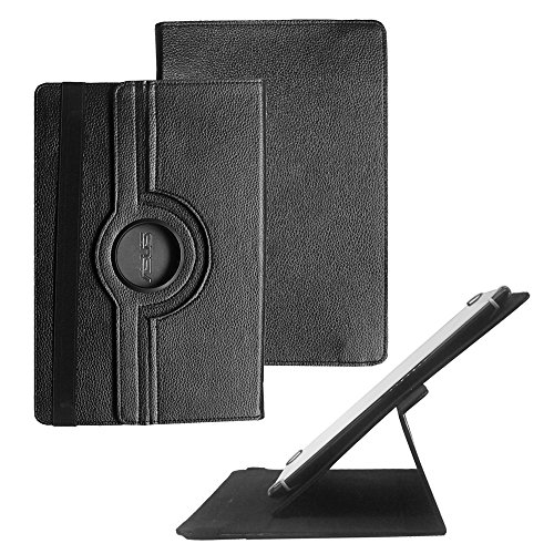 "Tsmine KingPad V10 10"" Octa Core Tablet Rotating Case - Universal Rotary Protective Leather Case Stand Cover for KingPad V10, Black"