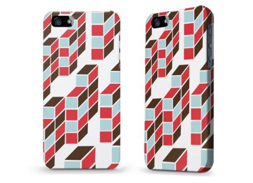 "Hülle / Case / Cover für iPhone 5 und 5s - ""Geometrie"""