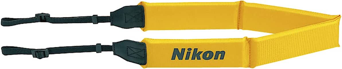 Nikon Floating Neck Strap, Black