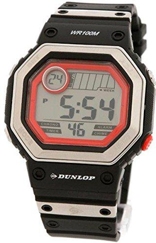 Dunlop Reloj Digital para Hombre de Automático con Correa en Resina DUN-77-G01
