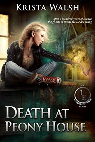 Death at Peony House (The Invisible Entente Book 1) cover