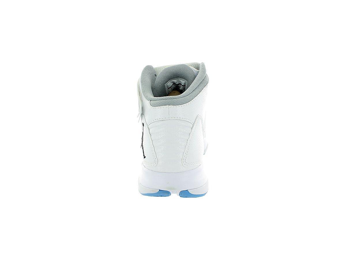 nike bct mi - 3 blanc / noir / / unvrsty bl / noir front de libération gry chaussure de basket 7,5 - nous b63c2d