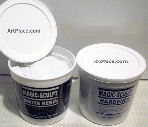 Magic Sculpt 5 Lb. White Epoxy Clay