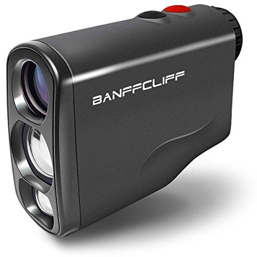 BanffCliff Professional Laser Rangefinder, 656Yard/ 600M Outdoor Hunting Golf Range Finder, Fog Scan Mode Speed Measurement Waterproof Distance Measure Meter Carry Case & Battery Included