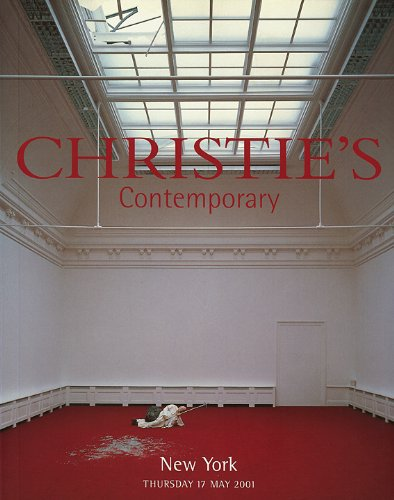 Read Online CONTEMPORARY [ EVENING SALE ]. Christie's New York, Thursday 17 May 2001 [ Sale Number 9648 ] PDF ePub ebook
