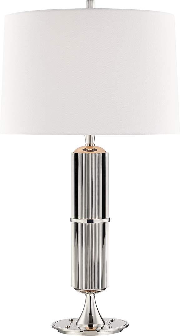 Amazon.com: Hudson Valley L1187-PN Tompkins Table Lamp, 1 ...