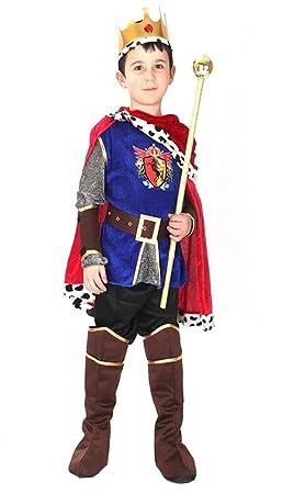 LaLaAreal Disfraz Principe Traje de Rey para Fiesta Carnaval ...