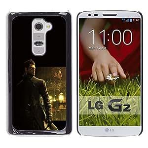 Ihec Tech Deusex Game / Funda Case back Cover guard / for LG G2