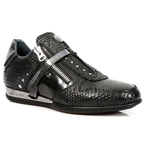 New Rock Hybrid Noir Chaussures M.HY018-S1