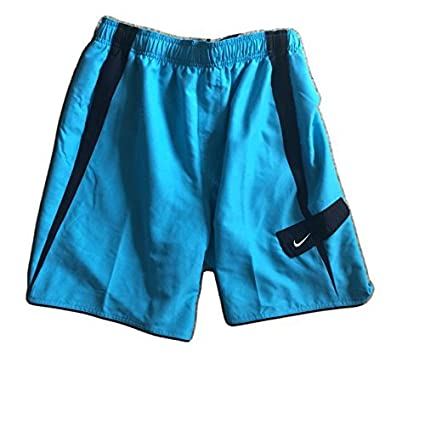 60a7d963a7d Mens Nike 9 Volley Trunks - Boardshorts - Swim Trunks - Bathing Suit -  Turquoise/