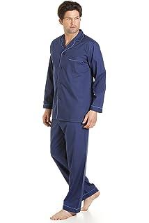 Haigman Pijama hombre azul cielo Manga Larga Set Pijama Traje Con Pantalones