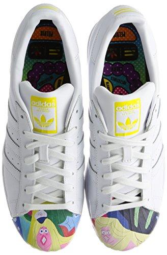 Hombre para Pharrell Oscuro Zapatillas Supershell Azul Blanco Superstar adidas 4qwIUXx