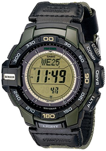 Casio Mens PRG 270B 3CR Green Watch product image