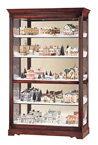 - Howard Miller 680-235 Townsend Curio Cabinet by