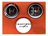 "Set of three 1"" Twenty One Pilots pins buttons 21 band blurryface version 2"